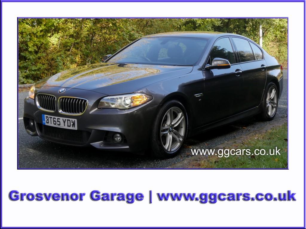 BMW 5 SERIES 3.0 535D M SPORT 4DR AUTOMATIC