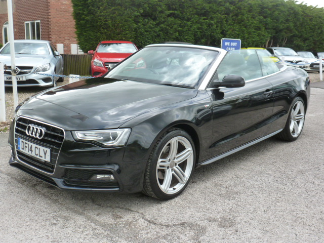 AUDI A5 2.0 TDI S LINE SPECIAL EDITION 2DR CVT