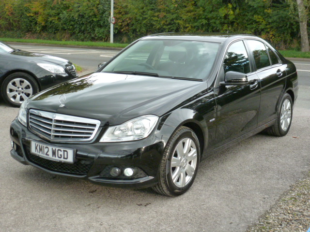 MERCEDES-BENZ C-CLASS 1.8 C180 BLUEEFFICIENCY SE 4DR AUTOMATIC