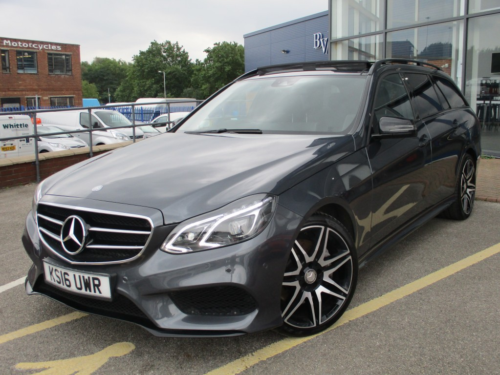 MERCEDES-BENZ E-CLASS 3.0 E350 BLUETEC AMG NIGHT EDITION PREMIUM 5DR AUTOMATIC