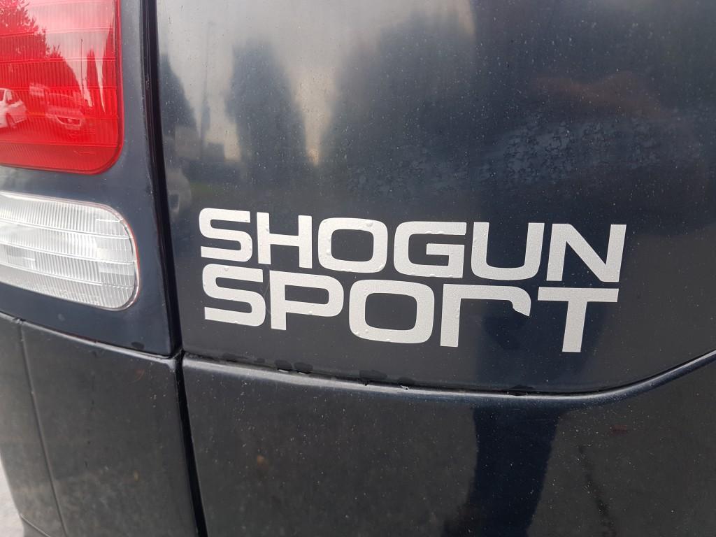 MITSUBISHI SHOGUN SPORT 2.5 TROJAN 5DR