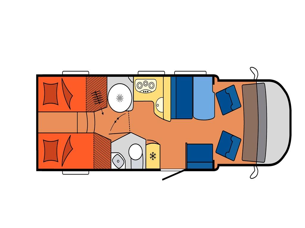 HOBBY Optima De Luxe T70 GE