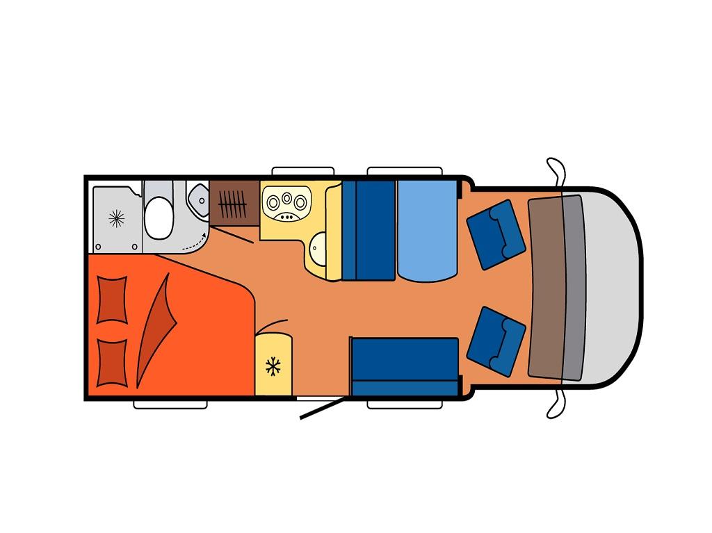HOBBY Optima De Luxe T65 FL