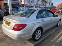 MERCEDES-BENZ C-CLASS 2.1 C220 CDI BLUEEFFICIENCY EXECUTIVE SE 4DR