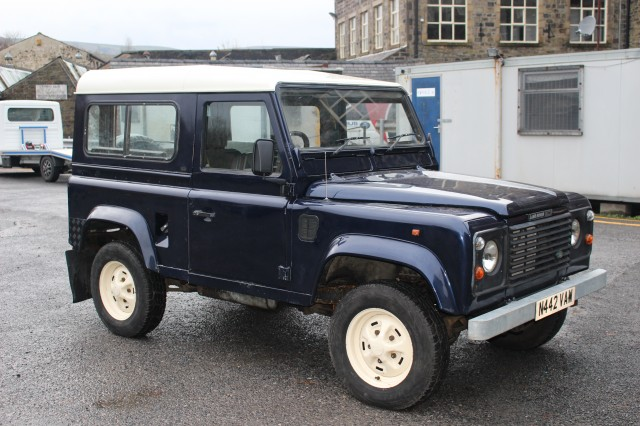 Used LAND ROVER DEFENDER 2.5 90 TDI 2DR in Lancashire