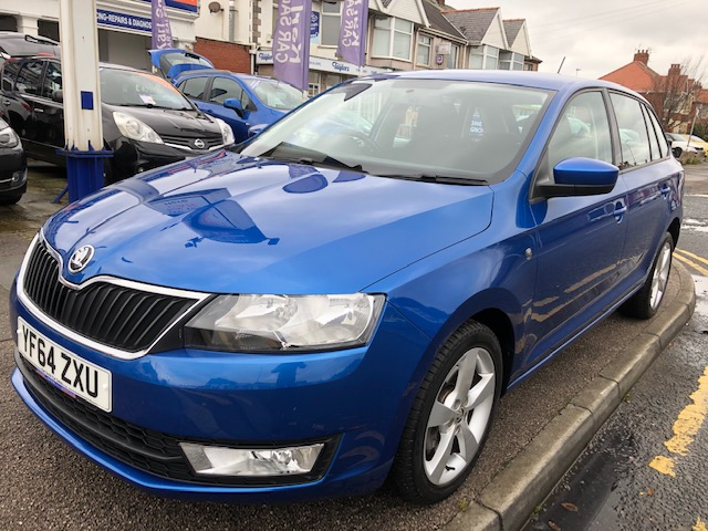 SKODA RAPID 1.6 SPACEBACK SE TECH TDI CR 5DR