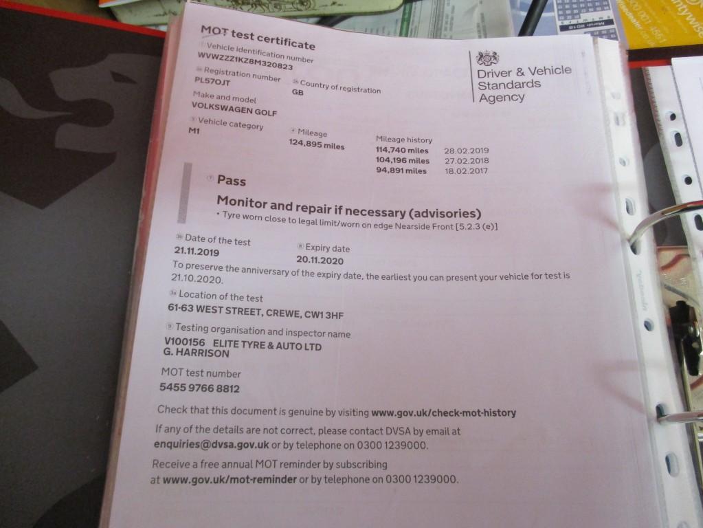 VOLKSWAGEN GOLF 1.9 S TDI DPF 5DR