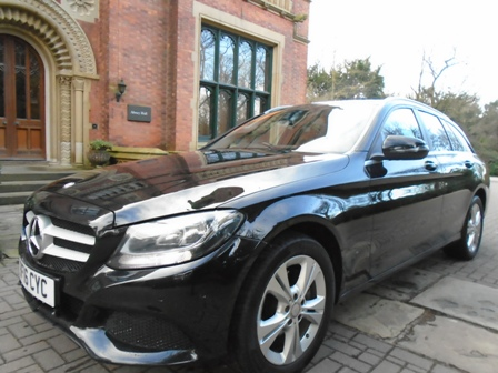 MERCEDES-BENZ C-CLASS 2.1 C220 D SE EXECUTIVE 5DR