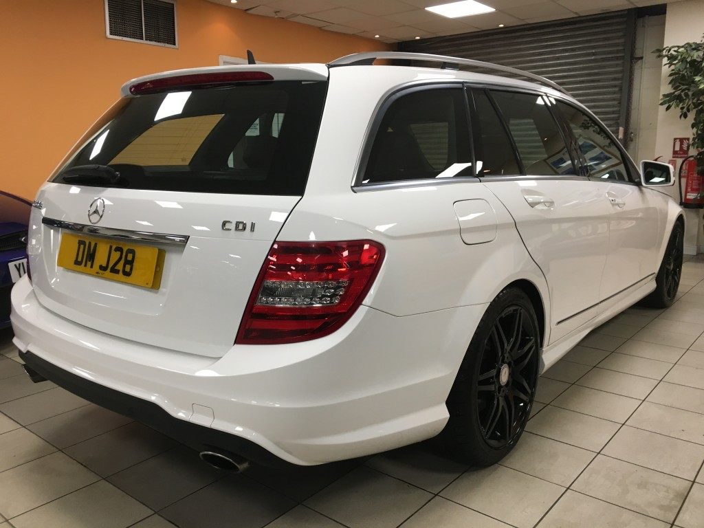 MERCEDES-BENZ C-CLASS 3.0 C350 CDI BLUEEFFICIENCY AMG SPORT PLUS 5DR AUTOMATIC