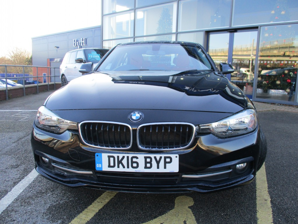 BMW 3 SERIES 2.0 320D ED SPORT 4DR AUTOMATIC