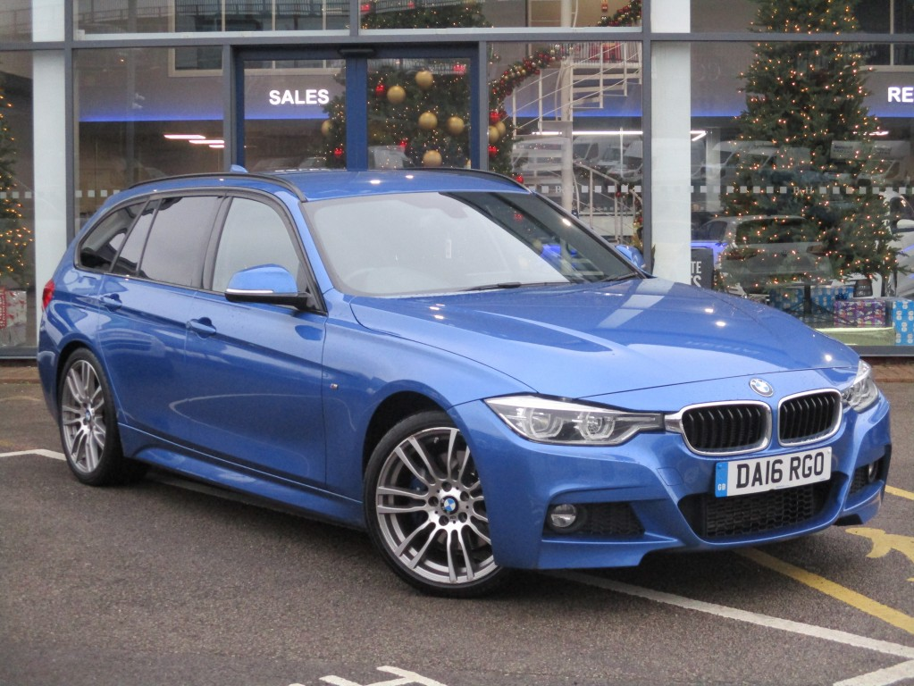 BMW 3 SERIES 2.0 320D M SPORT TOURING 5DR AUTOMATIC