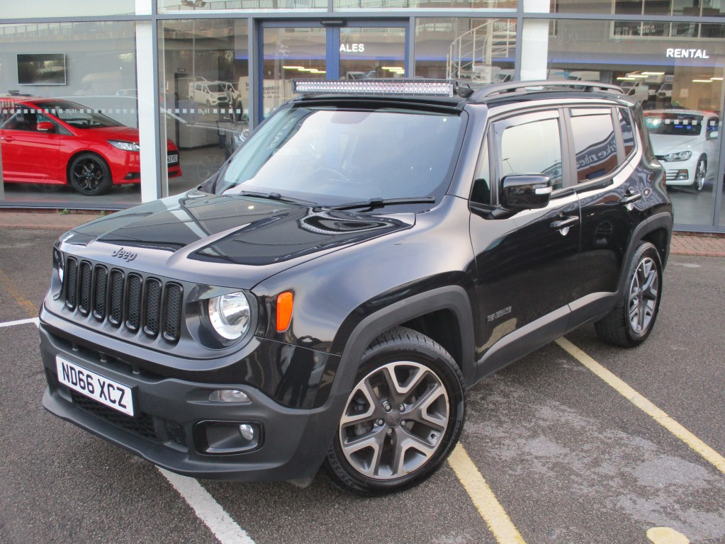 JEEP RENEGADE 2.0 M-JET TRAILHAWK 5DR AUTOMATIC