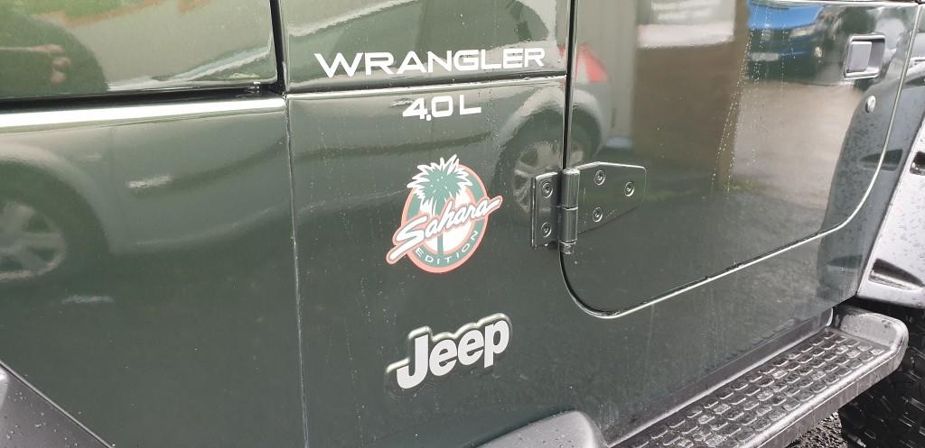 JEEP WRANGLER 4.0 SAHARA 3DR AUTOMATIC