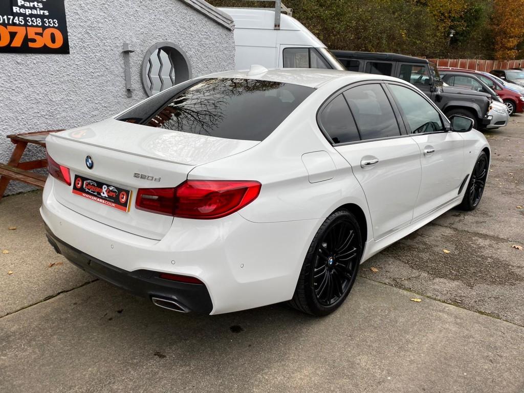 BMW 5 SERIES 2.0 520D M SPORT 4DR AUTOMATIC PLUS PACKAGE