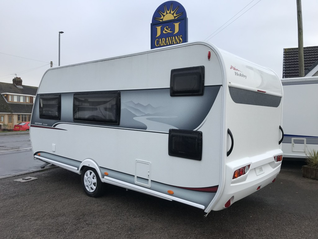 HOBBY ONTOUR 470 kmf 6 berth Fixed bed and banks