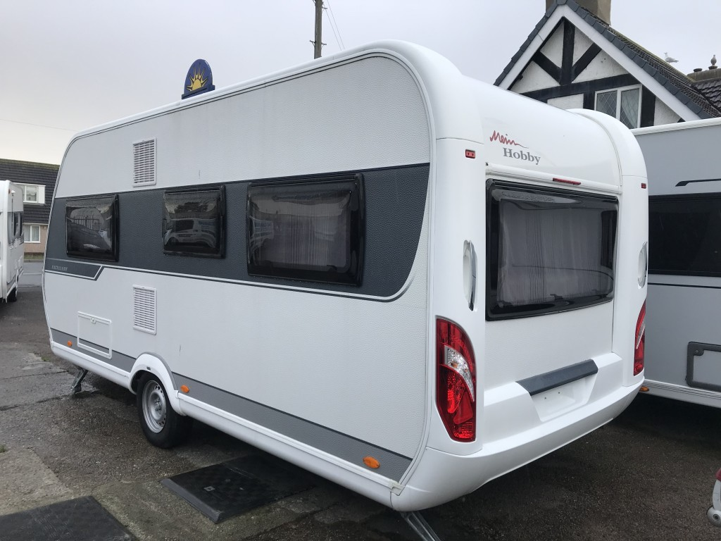 HOBBY Excellent 495 ufe 4 berth Fixed bed
