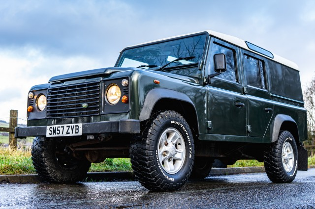 Used LAND ROVER DEFENDER 2.4 110 Utility LWB 5DR in Lancashire