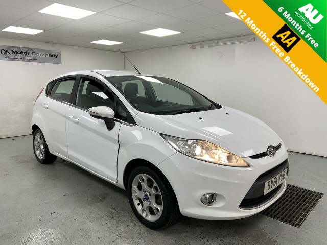 Used FORD FIESTA 1.2 ZETEC 5DR in West Yorkshire