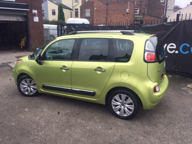 CITROEN C3 1.6 PICASSO EXCLUSIVE HDI 5DR