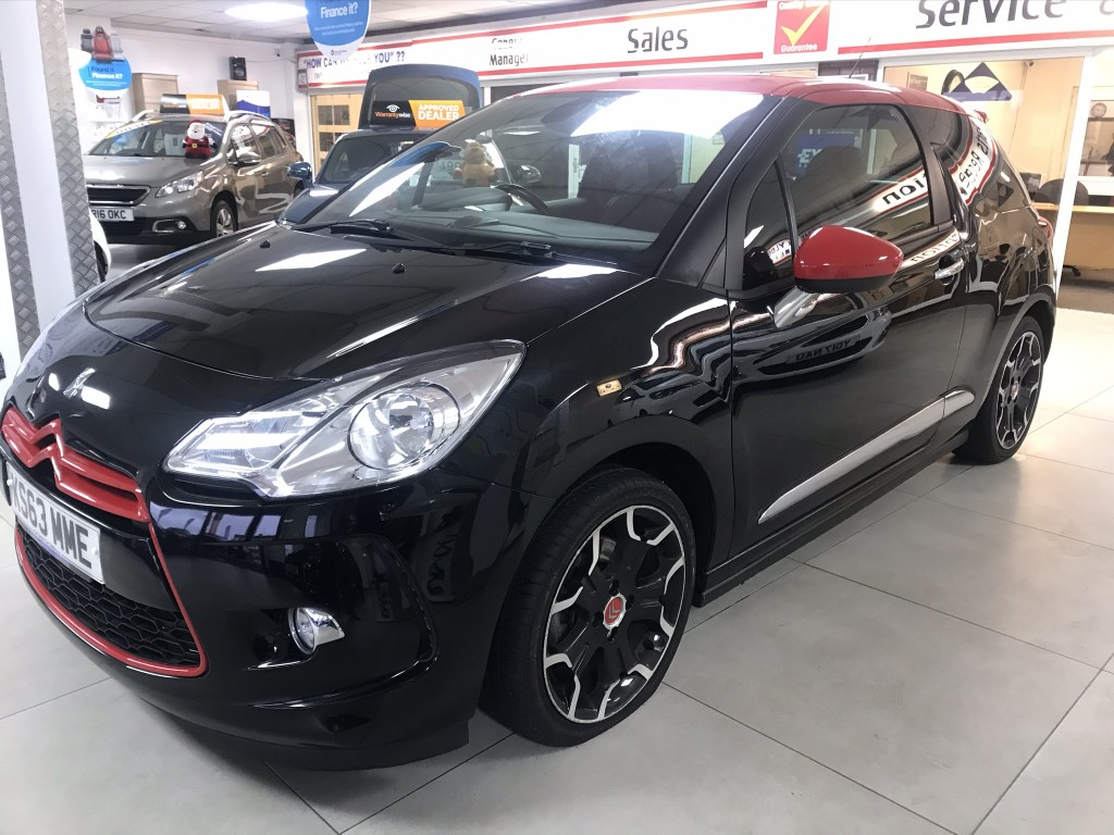 CITROEN DS3 1.6 DSPORT RED 3DR