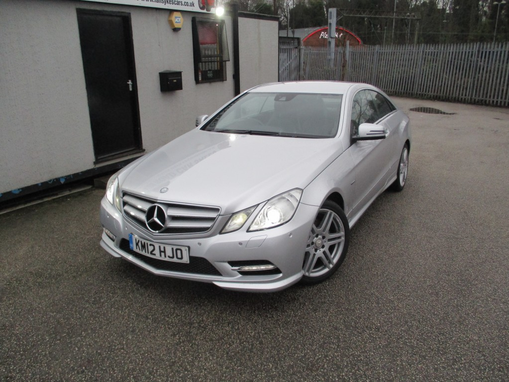 MERCEDES-BENZ E-CLASS 2.1 E250 CDI BLUEEFFICIENCY S/S SPORT 2DR AUTOMATIC