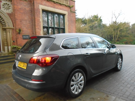 VAUXHALL ASTRA 2.0 SE CDTI 5DR AUTOMATIC