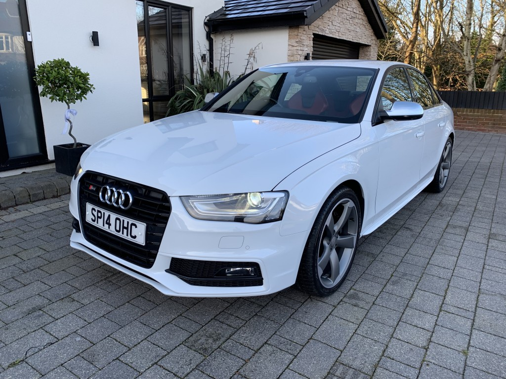 AUDI A4 3.0 S4 QUATTRO BLACK EDITION 4DR AUTOMATIC
