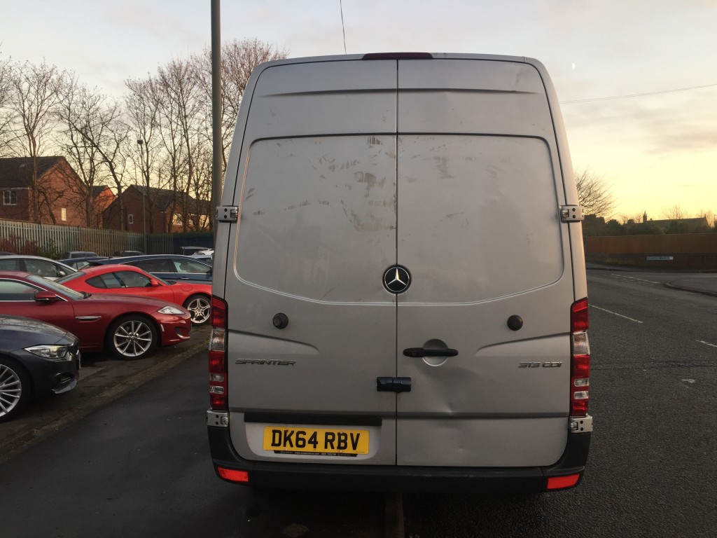 MERCEDES-BENZ SPRINTER 2.1 313 CDI MWB