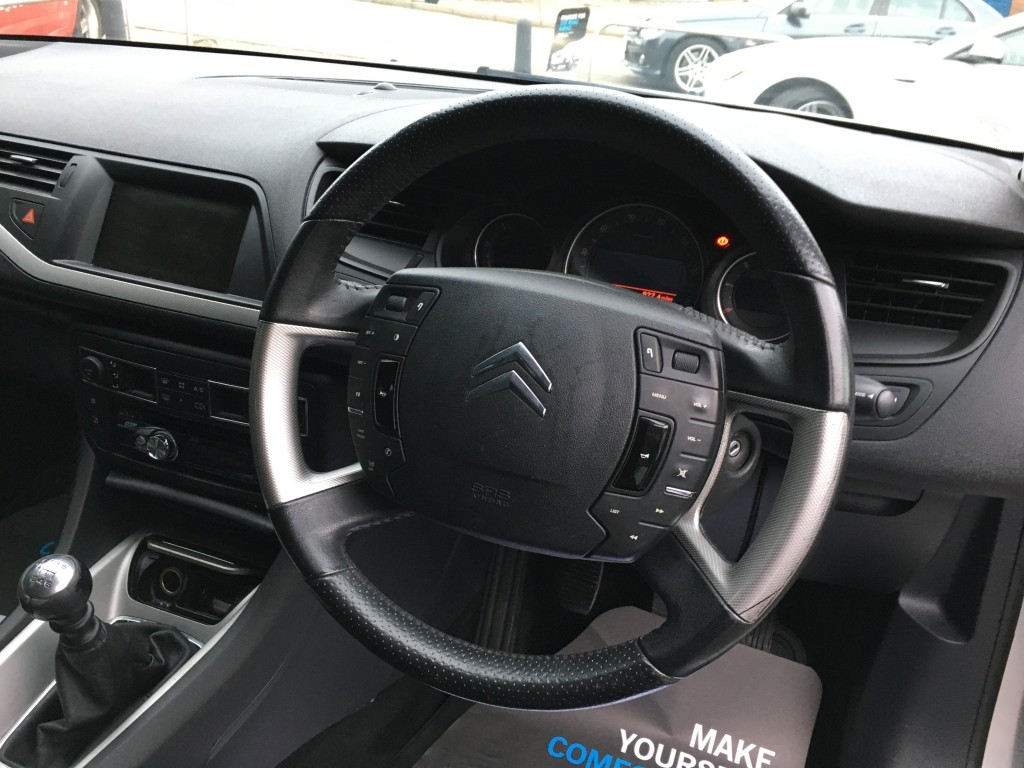 CITROEN C5 2.2 VTR PLUS HDI 4DR