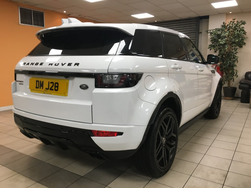 LAND ROVER RANGE ROVER EVOQUE 2.0 TD4 HSE DYNAMIC LUX 5DR AUTOMATIC