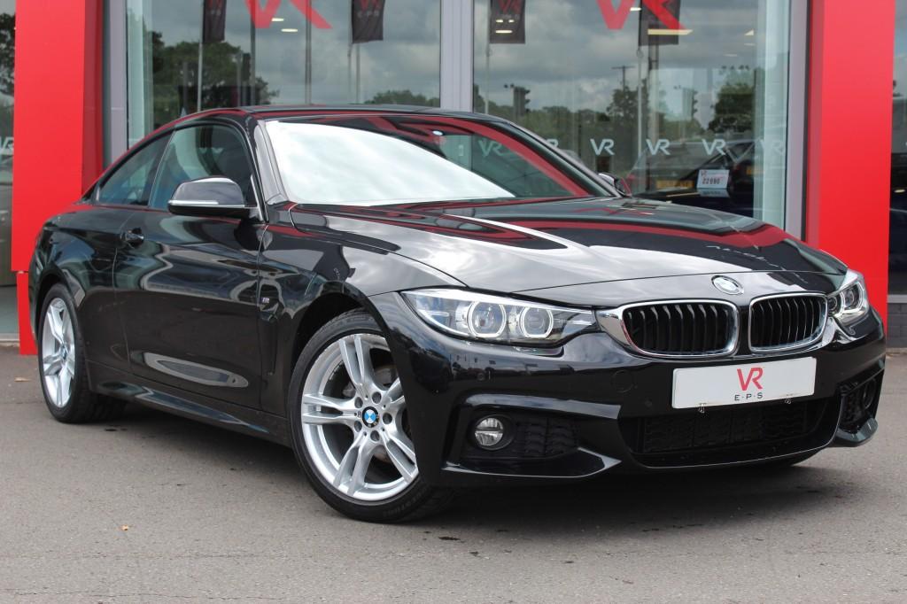BMW 4 SERIES 2.0 420I M SPORT 2DR AUTOMATIC