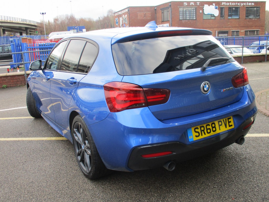 BMW 1 SERIES 3.0 M140I SHADOW EDITION 5DR AUTOMATIC