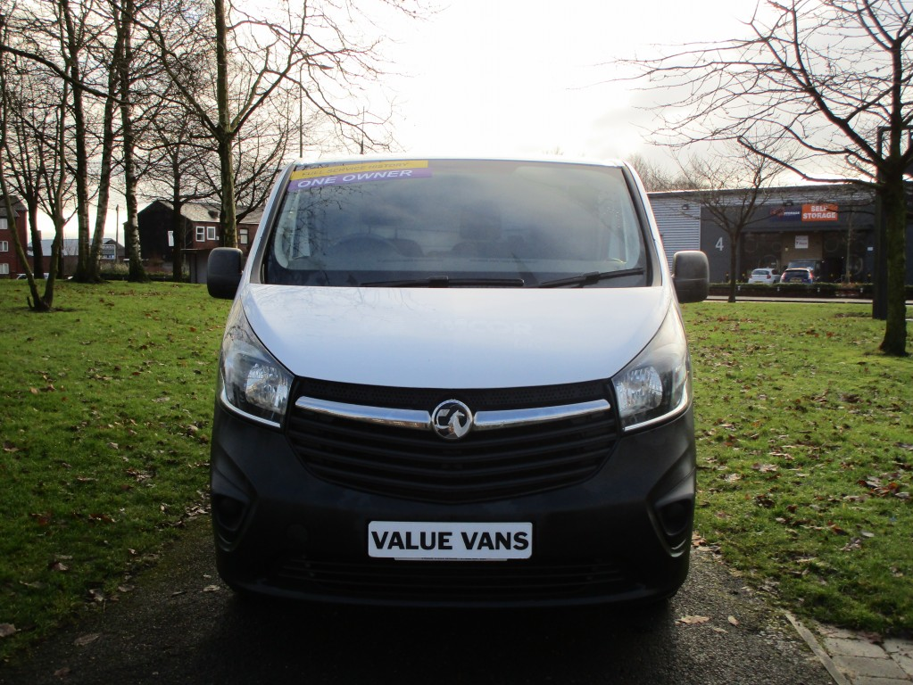 VAUXHALL VIVARO 1.6 2700 115 L1 H1 CDTI - ONE OWNER - JUST BEEN SERVICED - FSH