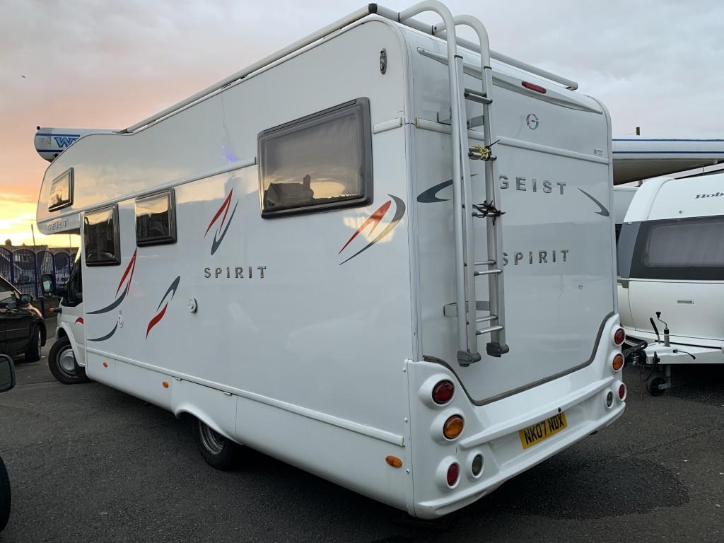 GEIST SPIRIT 6 BERTH  Low miles 15 months warranty