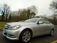 MERCEDES-BENZ C-CLASS 2.1 C220 CDI BLUEEFFICIENCY EXECUTIVE SE 2DR AUTOMATIC