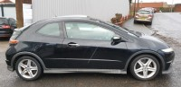 HONDA CIVIC 1.8 I-VTEC TYPE-S GT I-SHIFT 3DR SEMI AUTOMATIC