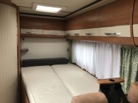 HOBBY Siesta exclusive t555 Fixed bed 15 months warranty