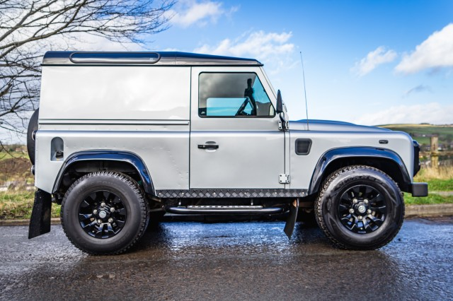Used LAND ROVER DEFENDER  2.4 90 TD X-TECH LE HARD TOP in Lancashire