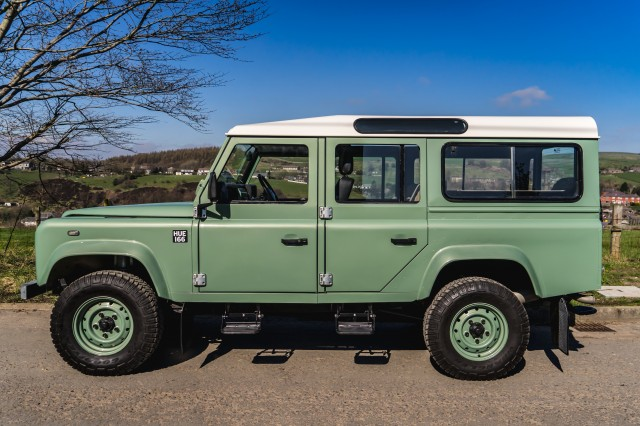 Used LAND ROVER DEFENDER 2.4 110 STATION WAGON LWB 5DR in Lancashire