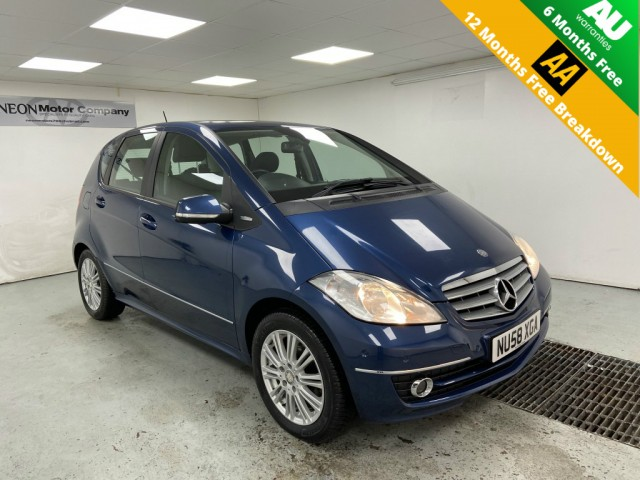 Used MERCEDES-BENZ A-CLASS 1.5 A150 ELEGANCE 5DR CVT in West Yorkshire