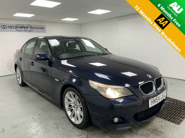 Used BMW 5 SERIES 2.5 525D SE 4DR AUTOMATIC in West Yorkshire