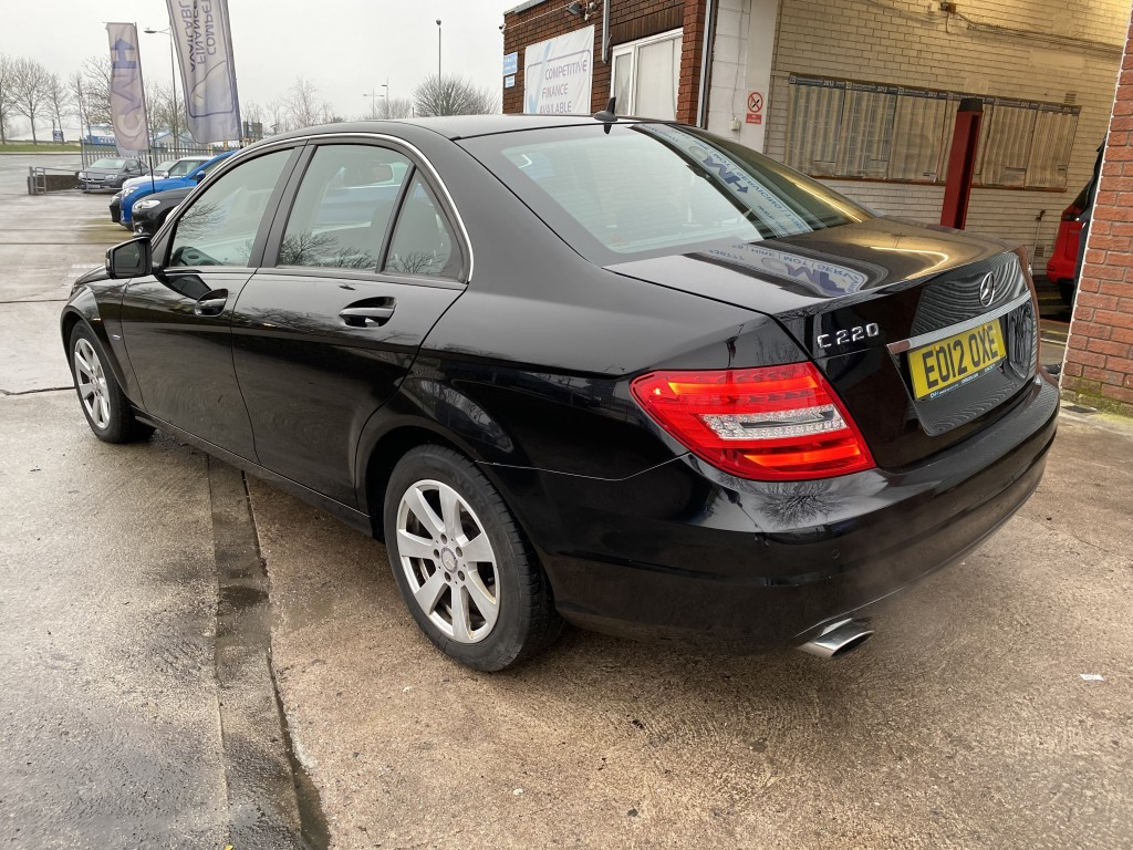 MERCEDES-BENZ C-CLASS 2.1 C220 CDI BLUEEFFICIENCY SE 4DR AUTOMATIC