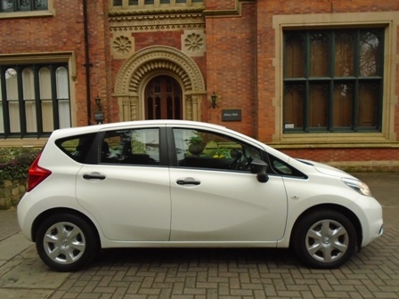 NISSAN NOTE 1.5 DCI VISIA 5DR