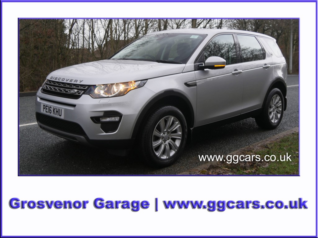 LAND ROVER DISCOVERY SPORT 2.0 TD4 SE TECH 5DR AUTOMATIC