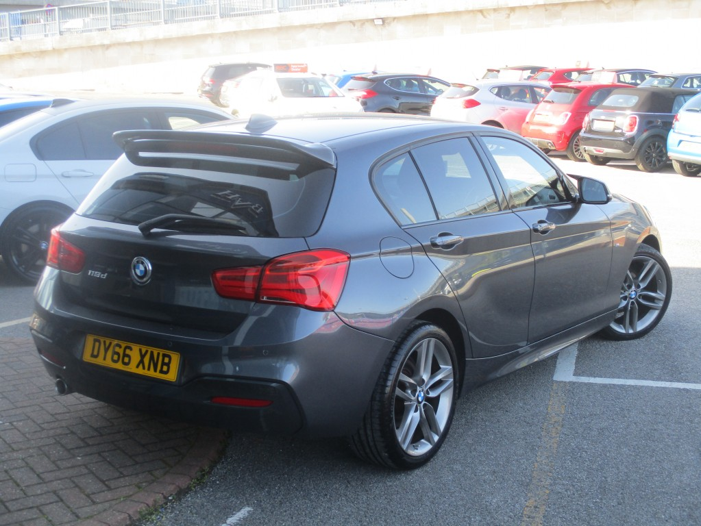 BMW 1 SERIES 2.0 118D M SPORT 5DR AUTOMATIC