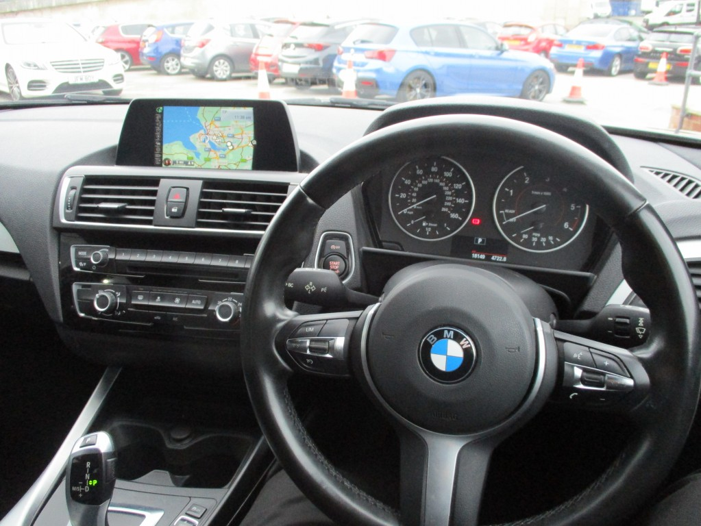 BMW 1 SERIES 2.0 118D M SPORT 5DR AUTOMATIC