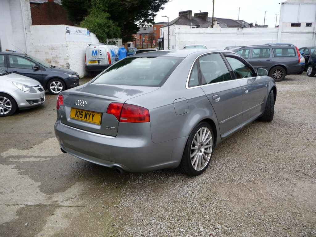 AUDI A4 2.0 T S LINE SPECIAL EDITION 4DR