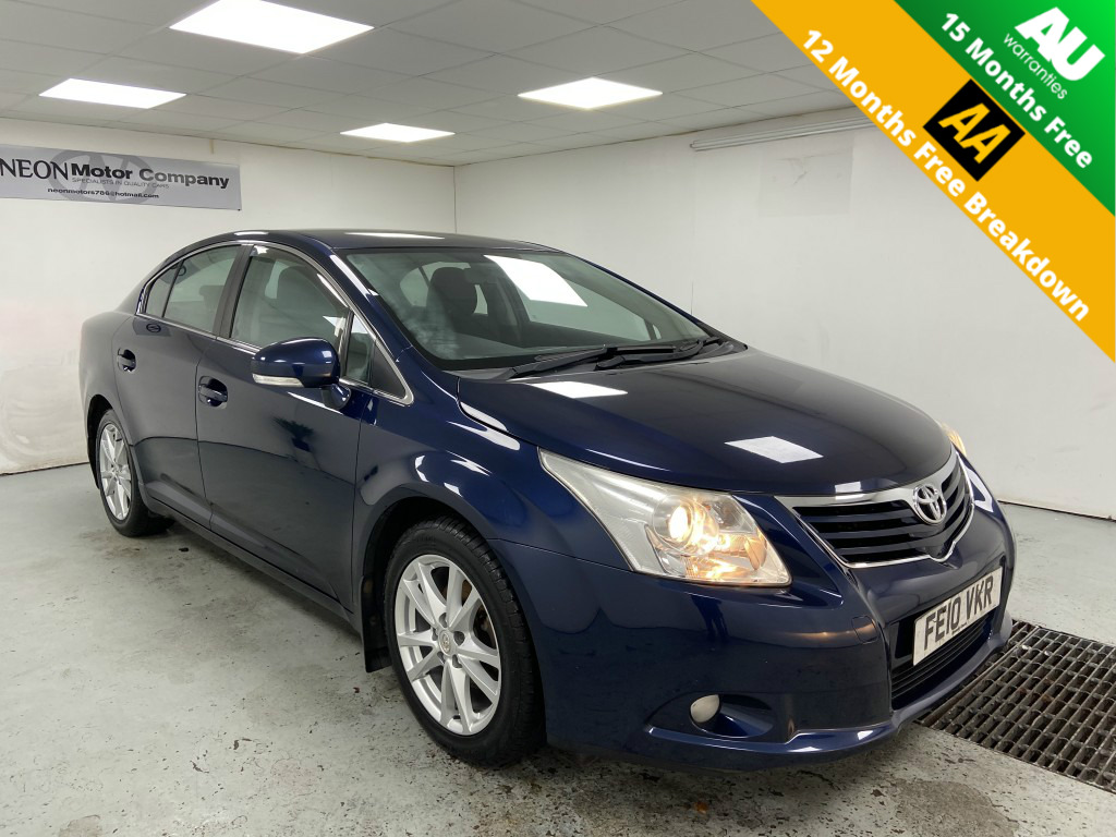 Used TOYOTA AVENSIS 1.8 TR VALVEMATIC 4DR in West Yorkshire