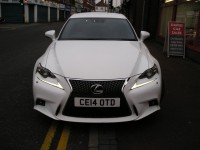 LEXUS IS 2.5 250 F SPORT 4DR AUTOMATIC