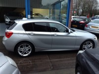 BMW 1 SERIES 1.5 118I M SPORT 5DR AUTOMATIC
